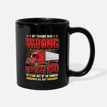 Sayings Funny truck driver lorry profession gift - Mug