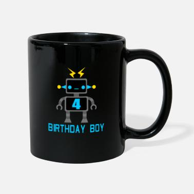 Code Robot 4 year birthday gift - Mug