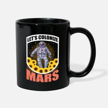 Space Ship Mars astronaut space travel space rocket - Mug