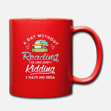 Couch Reader Design for a Reading Fan - Mug