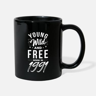 30th Young Wild And Free 30th birthday January 1991 - Mug