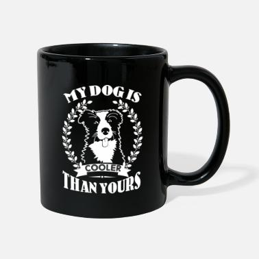 Border Collie My dog is cooler than yours Border Collie Shirt - Mug