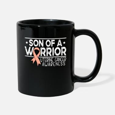 Uterine Cancer Awareness Son of a warrior uterine cancer awareness - Mug