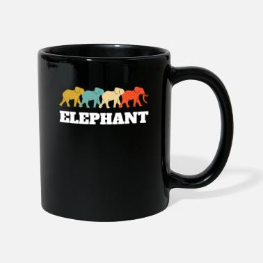 Safari Retro vintage elefant design - Krus