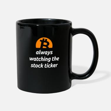 Bitcoin Cryptocurrency Coin Logo Stock Ticker - Mug
