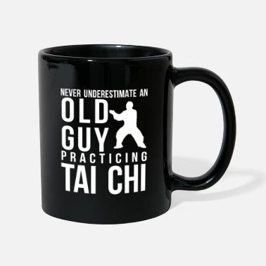Chi Gong Mens Taiji Chuan Martial Arts Chinese Shadow - Mug