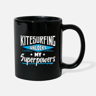 Witty Great Funny Kitesurfing Kiteboarder Sayings Jokes - Mug