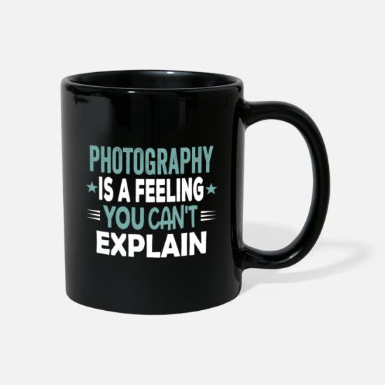 S'aimer Mugs et récipients - Cool Funny Photography Feeling Love Photo Sayings - Mug noir