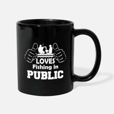 Public Fishing In Public - Mug