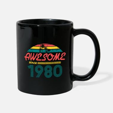 40th Birthday Vintage 1980- 40th birthday gift - Mug