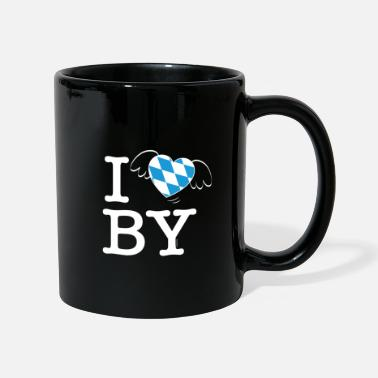 Bewinged I LOVE BAVARIA winged heart gift idea - Mug