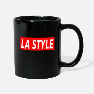 Los Angeles LA Style - Los Angeles stijl salsa - rood - Mok