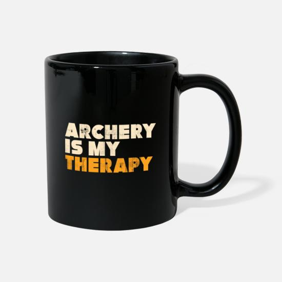 Gift Idea Mugs & Drinkware - archery - Mug black