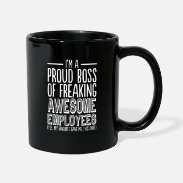 Office Proud Boss Of Freaking Awesome Employees - Funny - Mug