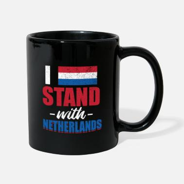 Hollande Drapeau national d'Amsterdam Pays-Bas Hollande - Mug uni