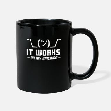 You Are The Bug Of My Life Shrug It Works On My Machine Funny Programmer - Mug