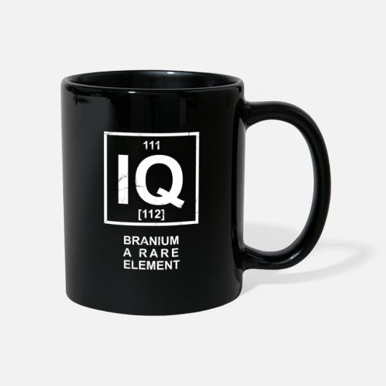 Chemistry Mugs & Drinkware - Branium - a rare element - chemical element IQ - Mug black