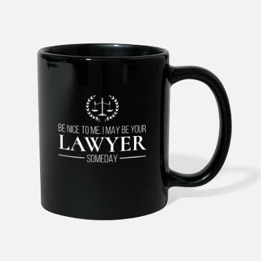 Śmieszne Funny Lawyer Attorney Esquire Law Firm Gift - Kubek