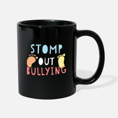 Stomp Stomp Out Bullying Anti Bully E camiseta de la novedad - Taza