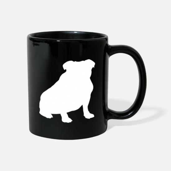 Dog Friend Mugs & Drinkware - Bulldog dog dog motif gift - Mug black