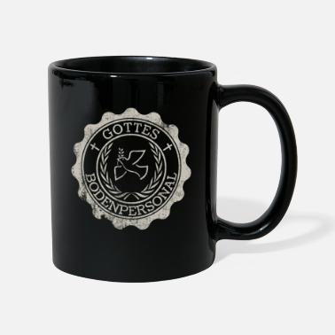 The Son Of God God's Ground Staff Priest Pastor Pastor Logo - Mug