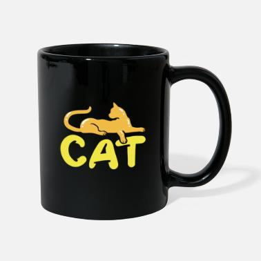 Cat cats silhouette Cat - Mug
