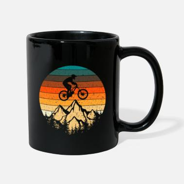 Tain Mountain bike downhill retro vintage gift - Mug