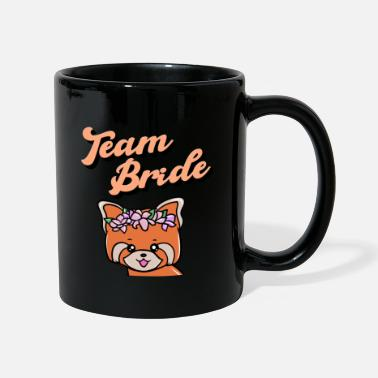 Maid Of Honor Hen party red panda, team bride - Mug