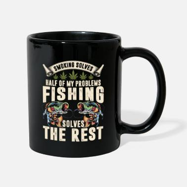 Movie Solves Half Of My Problems Fishing Solves The Rest - Mug