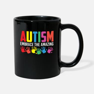 Giftig Autism Embrace The Amazing Colorful Autism Hands - Tasse