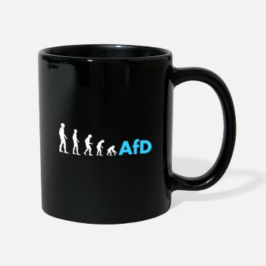 Pegida Evolution to afd gift politics Pegida - Mug