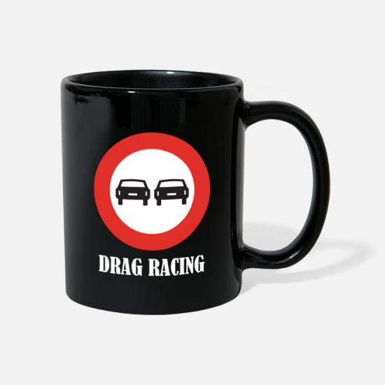 Race Car Mugs & Drinkware - Drag Racing - Mug black