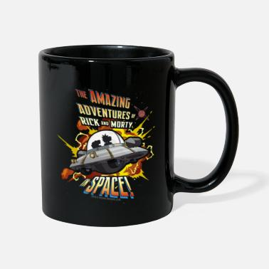Nerd Rick And Morty Amazing Adventures In Space Tasse - Tasse