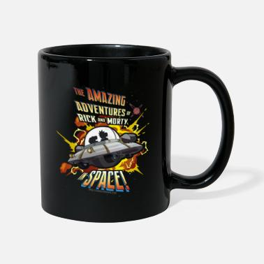 Nerd Rick And Morty Amazing Adventures In Space Tasse - Tasse einfarbig