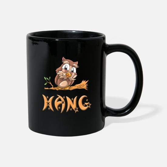 Hang Mugs & Drinkware - Owl slope - Mug black