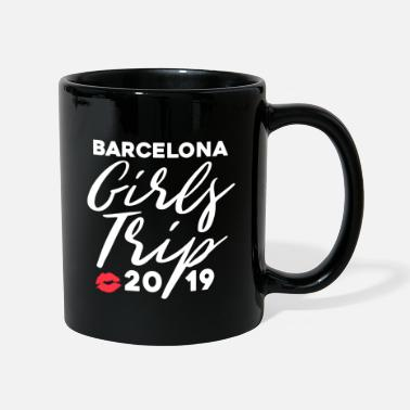 Farewell Trip Barcelona Girls Trip 2019 - Girl Vacation Trip - Mug