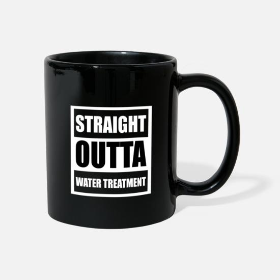 Right Mugs & Drinkware - STRAIGHT OUTTA WATER TREATMENT | Apex Legends - Mug black