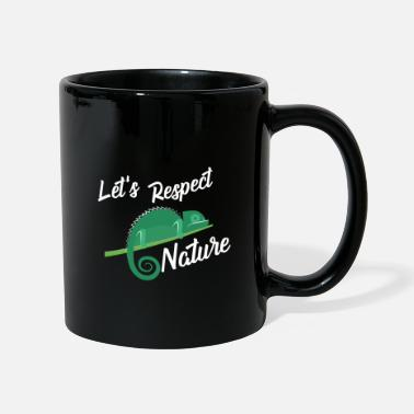 Nature Nature conservation Nature lovers Organic saying gift - Mug