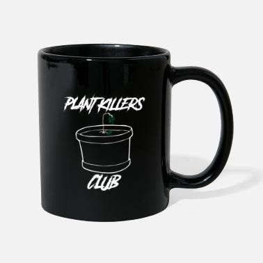 Meatless Vegan Saying Plant Killer's Gift - Mug