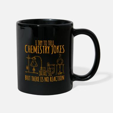 University Chemistry flask laboratory saying gift - Mug