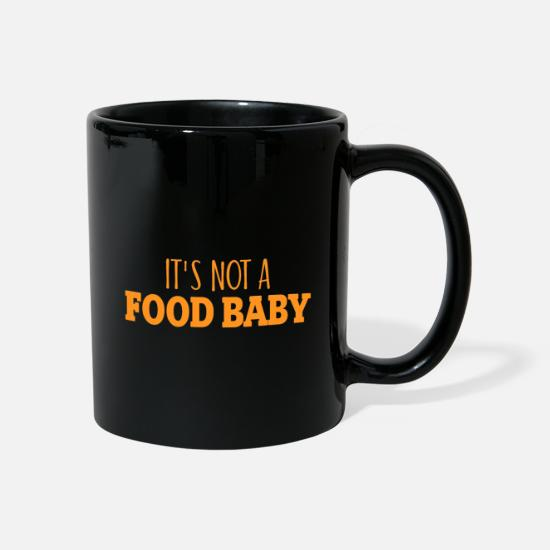 Gift Idea Mugs & Drinkware - It`s not a food baby gift - Mug black