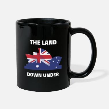 Australie kangourou Oz drapeau emblème anniversaire tasse