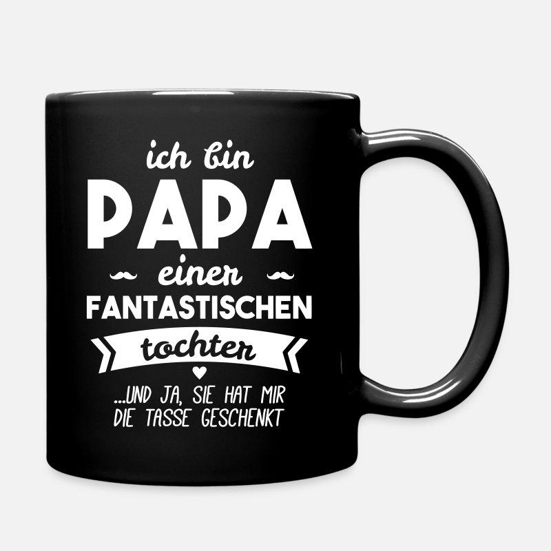 Papa und super Tochter von Genial shirt | Spreadshirt
