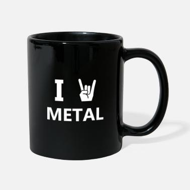 Metal I Love Metal Heavy Metal - Taza