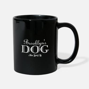 German Shepherd Brooklyn's Dog - New York City dog dogs bones - Full Colour Mug