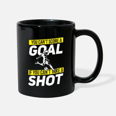 Penalty Kick Soccer Shot Ball Goal Stadium Player Penalty Kick - Mug