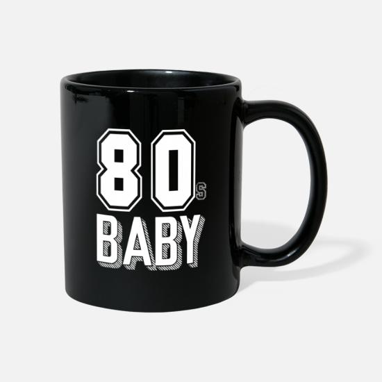 80s Mugs & Drinkware - 80 - Mug black