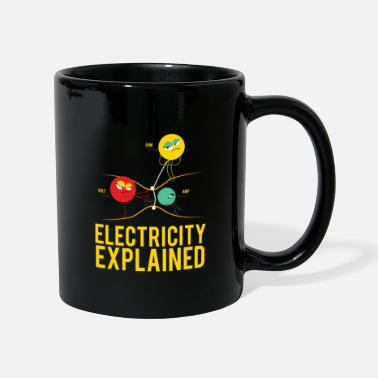 Electricity Electricity Explained- Electricity Physics - Mug