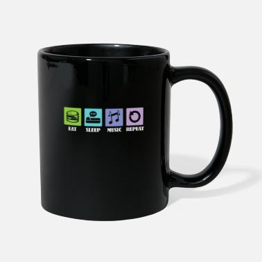 Bass Eat Sleep Music Repeat - Mug
