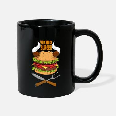Health Viking Burger Nourriture Nourriture Pizza Restauration rapide Brainfood - Mug uni